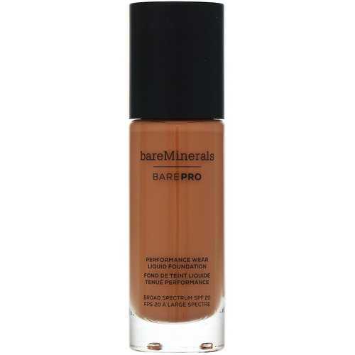 Bare Minerals, BAREPRO, Performance Wear, Liquid Foundation, SPF 20, Chai 26, 1 fl oz (30 ml) Review