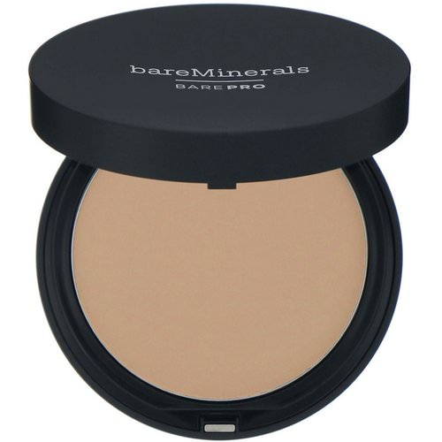 Bare Minerals, BAREPRO, Performance Wear Powder Foundation, Sandalwood 15, 0.34 oz (10 g) Review