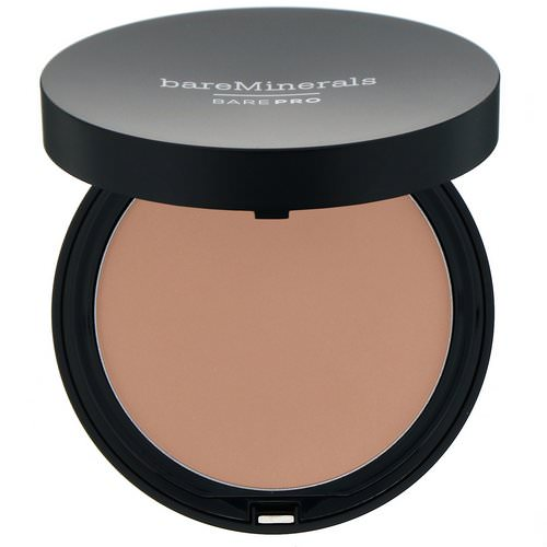 Bare Minerals, BAREPRO, Performance Wear Powder Foundation, Sateen 05, 0.34 oz (10 g) Review