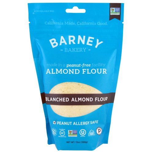 Barney Butter, Almond Flour, Blanched Almond Flour, 13 oz (368 g) Review