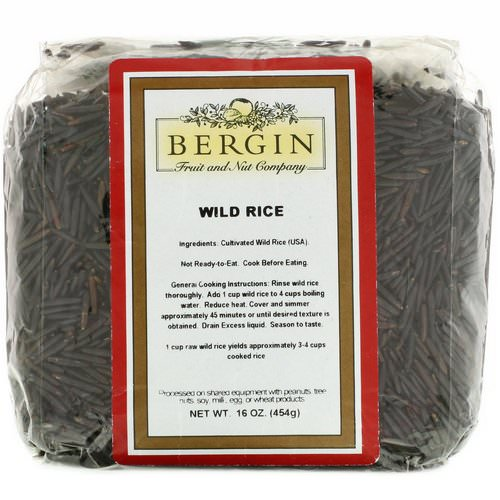 Bergin Fruit and Nut Company, Wild Rice, 16 oz (454 g) Review
