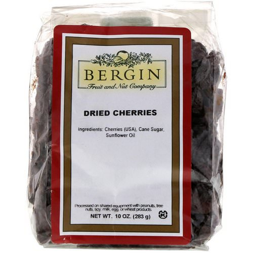 Bergin Fruit and Nut Company, Dried Cherries, 10 oz (283 g) Review
