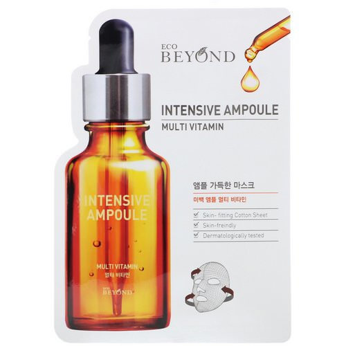 Beyond, Intensive Ampoule, Multi Vitamin Mask, 1 Mask Review