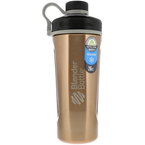 Blender Bottle, Blender Bottle Radian, Insulated Stainless Steel, Copper, 26 oz Review