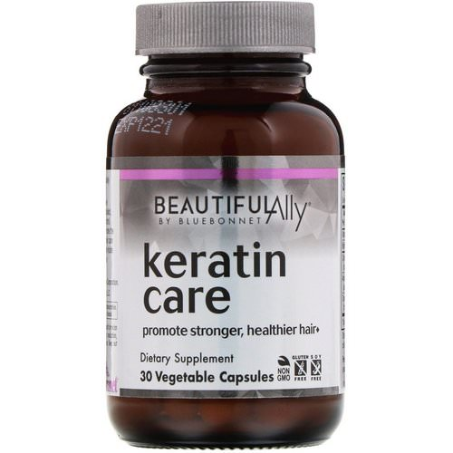 Bluebonnet Nutrition, Beautiful Ally, Keratin Care, 30 Vegetable Capsules Review