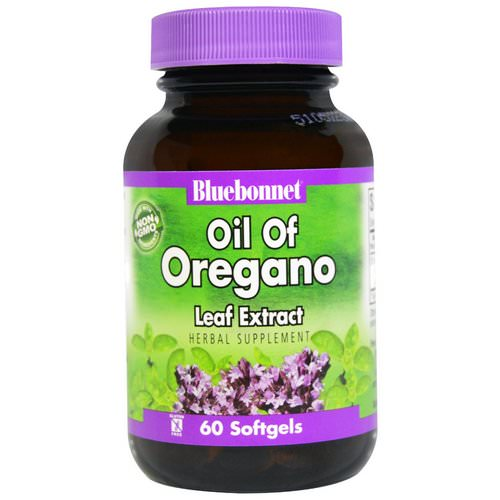 Bluebonnet Nutrition, Oil of Oregano Leaf Extract, 60 Softgels Review