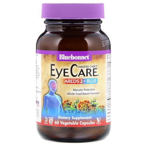Bluebonnet Nutrition, Targeted Choice, Eye Care, 60 Vegetable Capsules Review