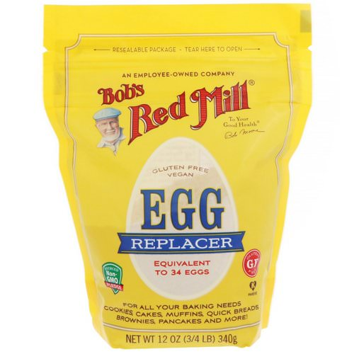 Bob's Red Mill, Egg Replacer, 12 oz (340 g) Review