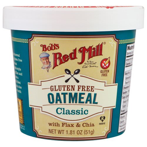 Bob's Red Mill, Oatmeal, Classic, 1.81 oz (51 g) Review