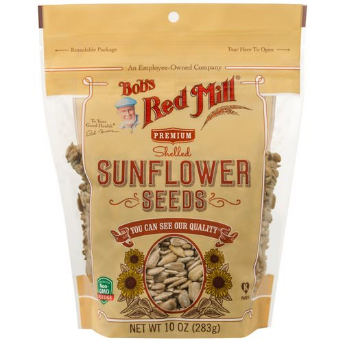 Bob's Red Mill, Shelled Sunflower Seeds, 10 oz (283 g) Review