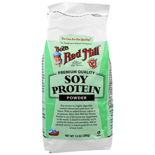 Bob's Red Mill, Soy Protein Powder, 14 oz (396 g) Review