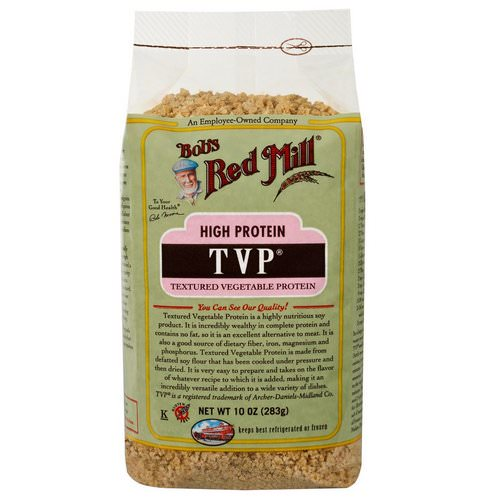 Bob's Red Mill, TVP, Textured Vegetable Protein, 10 oz (283 g) Review