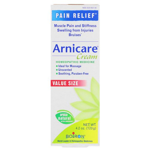 Boiron, Arnicare Cream, Unscented, 4.2 oz (120 g) Review