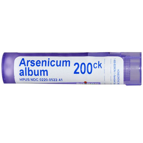 Boiron, Single Remedies, Arsenicum Album, 200CK, Approx 80 Pellets Review