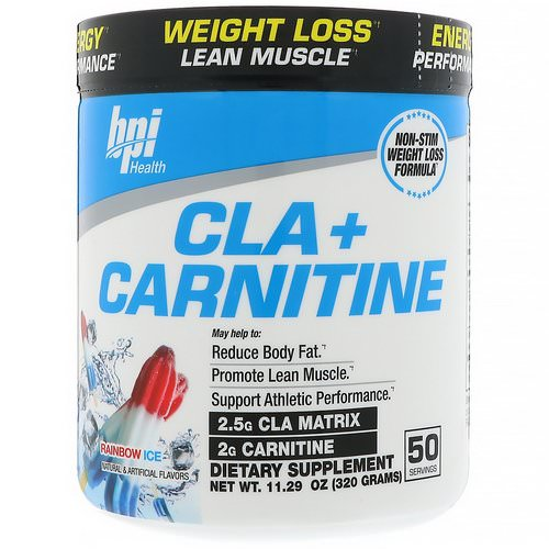 BPI Sports, CLA + Carnitine, Rainbow Ice, 11.29 oz (320 g) Review