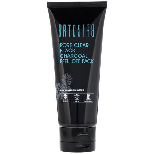 BRTC, Pore Clear Black Charcoal Peel-Off Pack, 3.53 oz (100 g) Review