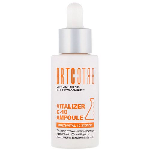 BRTC, Vitalizer C-10 Ampoule, 30 ml Review