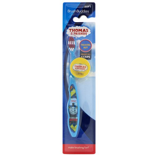 Brush Buddies, Thomas & Friends, Travel Kit, Soft, 1 Toothbrush With Cap Review