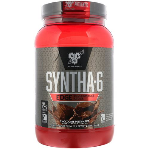 BSN, Syntha-6 Edge, Protein Powder Drink Mix, Chocolate Milkshake, 2.35 lb (1.06 kg) Review