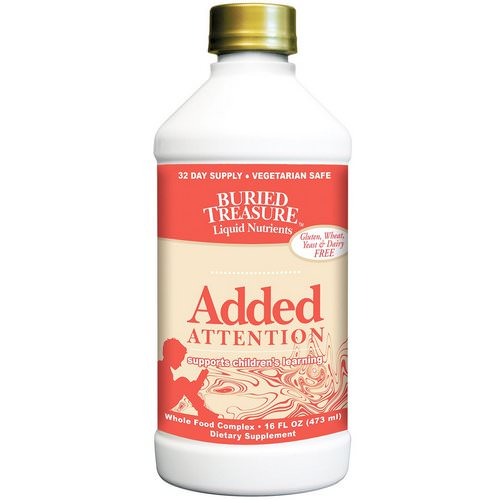 Buried Treasure, Liquid Nutrients, Added Attention, 16 fl oz (473 ml) Review