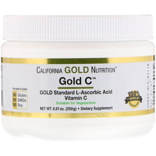 California Gold Nutrition, Gold C Powder, 8.81 oz (250 g) Review
