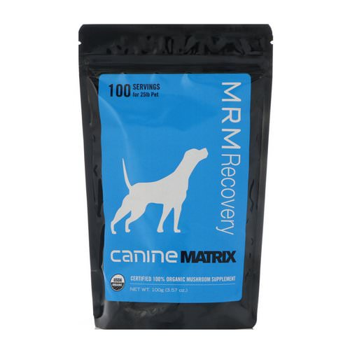 Canine Matrix, MRM Recovery, For Dogs, 3.57 oz (100 g) Review