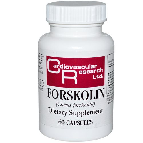 Cardiovascular Research, Forskolin, 60 Capsules Review