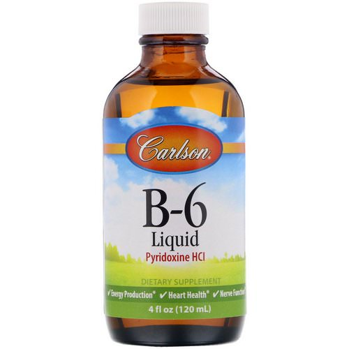 Carlson Labs, B-6 Liquid, 4 fl oz (120 ml) Review
