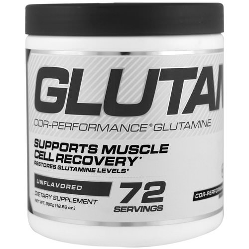 Cellucor, Cor-Performance Glutamine, Unflavored, 12.69 oz (360 g) Review