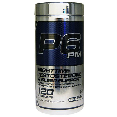 Cellucor, P6 PM, Nighttime Testosterone & Sleep Support, 120 Capsules Review