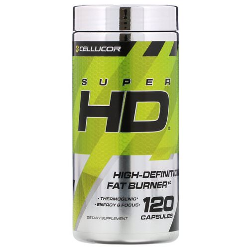 Cellucor, Super HD, 120 Capsules Review