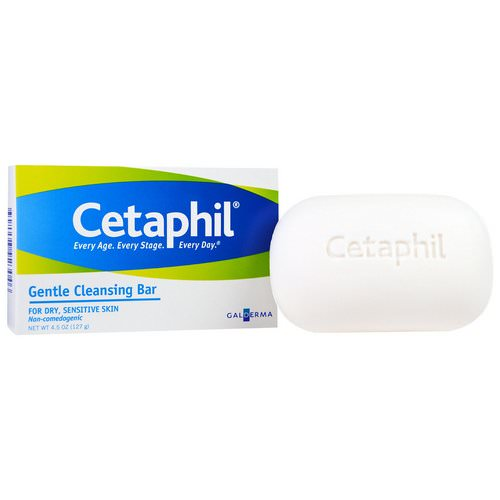 Cetaphil, Gentle Cleansing Bar, 4.5 oz (127 g) Review