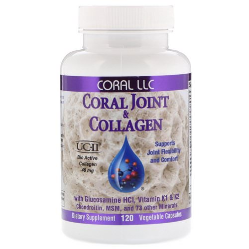 CORAL LLC, Coral Joint & Collagen, 120 Vegetable Capsules Review
