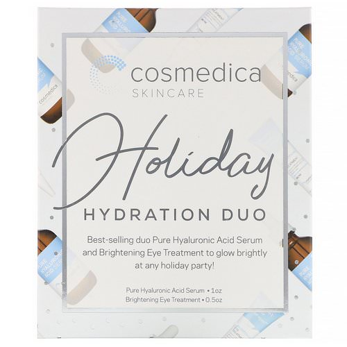 Cosmedica Skincare, Holiday Hydration Duo, 2 Piece Kit Review