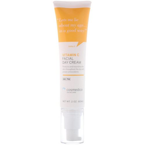 Cosmedica Skincare, Vitamin C Facial Day Cream, 2 oz (60 ml) Review
