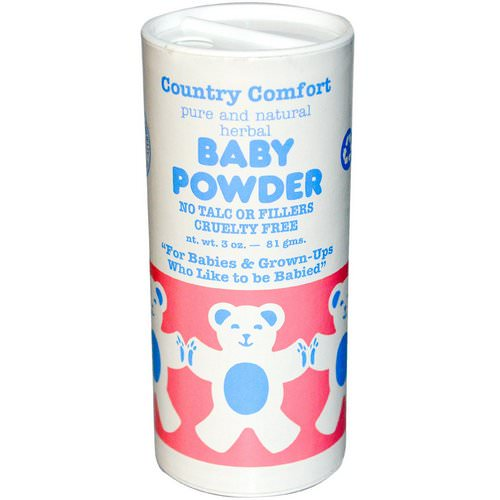 Country Comfort, Baby Powder, 3 oz (81 g) Review