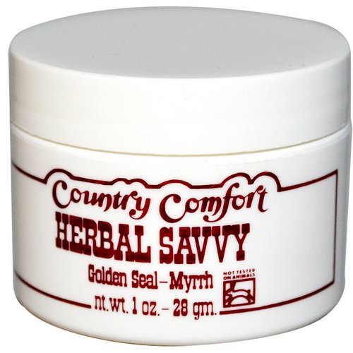 Country Comfort, Herbal Savvy, Golden Seal-Myrrh, 1 oz (28 g) Review