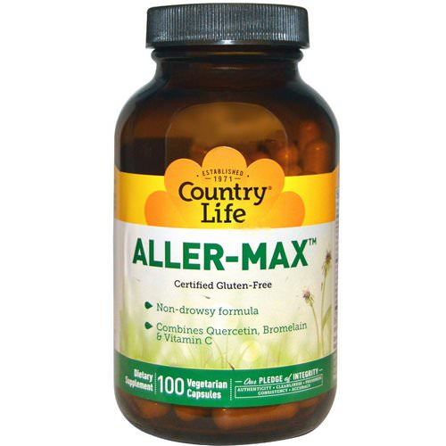 Country Life, Aller-Max, 100 Veggie Caps Review