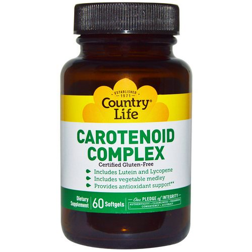 Country Life, Carotenoid Complex, 60 Softgels Review