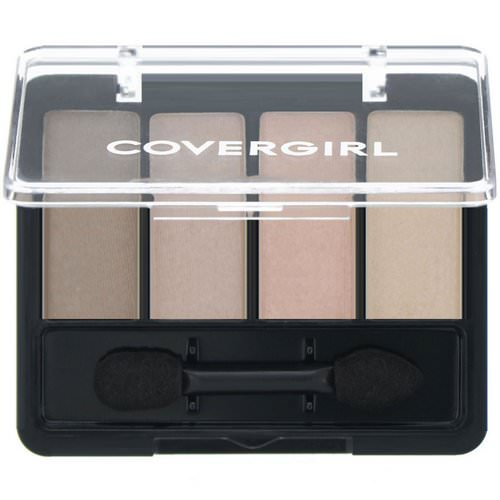 Covergirl, Eye Enhancers, Eye Shadow, 265 Sheerly Nudes, .19 oz (5.5 g) Review