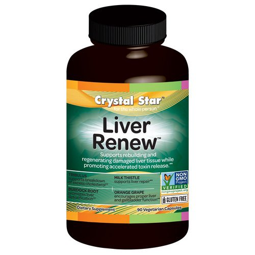 Crystal Star, Liver Renew, 90 Veggie Caps Review