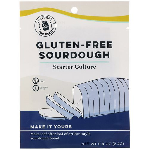 Cultures for Health, Gluten-Free Sourdough, 1 Packet, .08 oz (2.4 g) Review