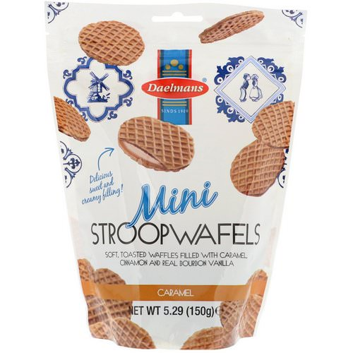 Daelmans, Mini Stroopwafels, Caramel, 5.29 oz (150 g) Review