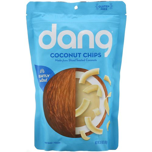 Dang, Coconut Chips, Lightly Salted, 3.17 oz (90 g) Review