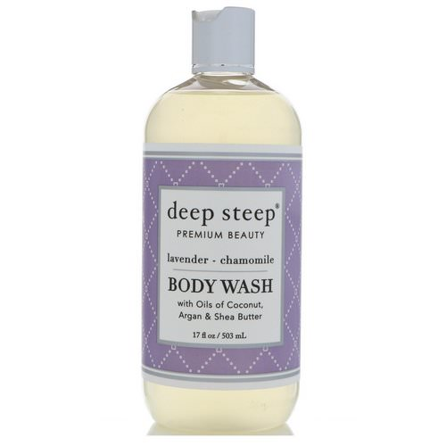 Deep Steep, Body Wash, Lavender - Chamomile, 17 fl oz (503 ml) Review