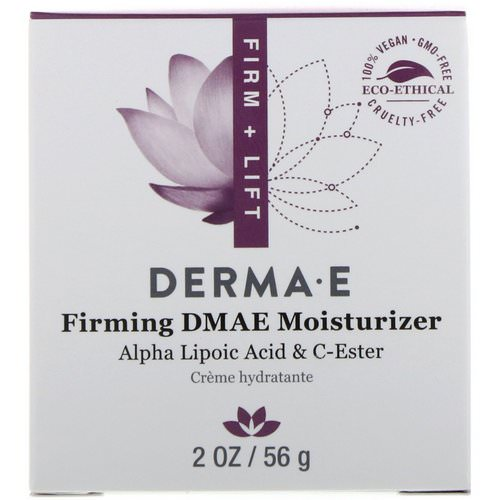 Derma E, Firming DMAE Moisturizer, with Alpha Lipoic Acid and C-Ester, 2 oz (56 g) Review