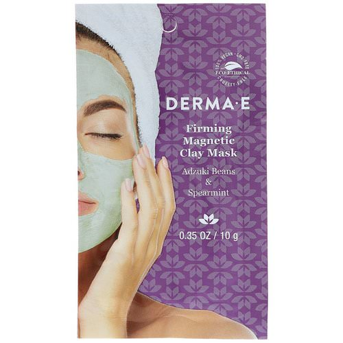 Derma E, Firming Magnetic Clay Mask, Adzuki Beans & Spearmint, 0.35 oz ( 10 g) Review