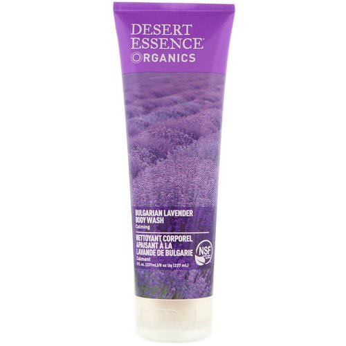 Desert Essence, Organics, Body Wash, Bulgarian Lavender, 8 fl oz (237 ml) Review
