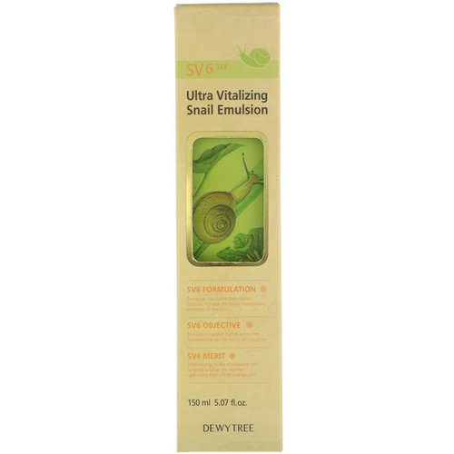 Dewytree, Ultra Vitalizing Snail Emulsion, 5.07 fl oz (150 ml) Review