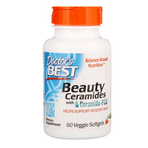 Doctor's Best, Beauty Ceramides with Ceramide-PCD, 60 Veggie Softgels Review